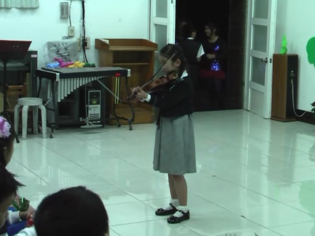 一年級小提琴個人演奏